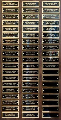 Army Perpetual Plaque #2