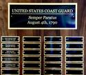 View large photo of Coast Guard Perpetual Plaque