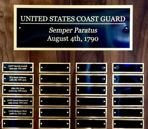 Coast Guard Perpetual Plaque