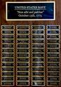 View large photo of Navy Perpetual Plaque