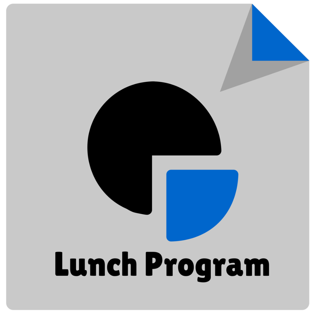 Lunch Program Icon