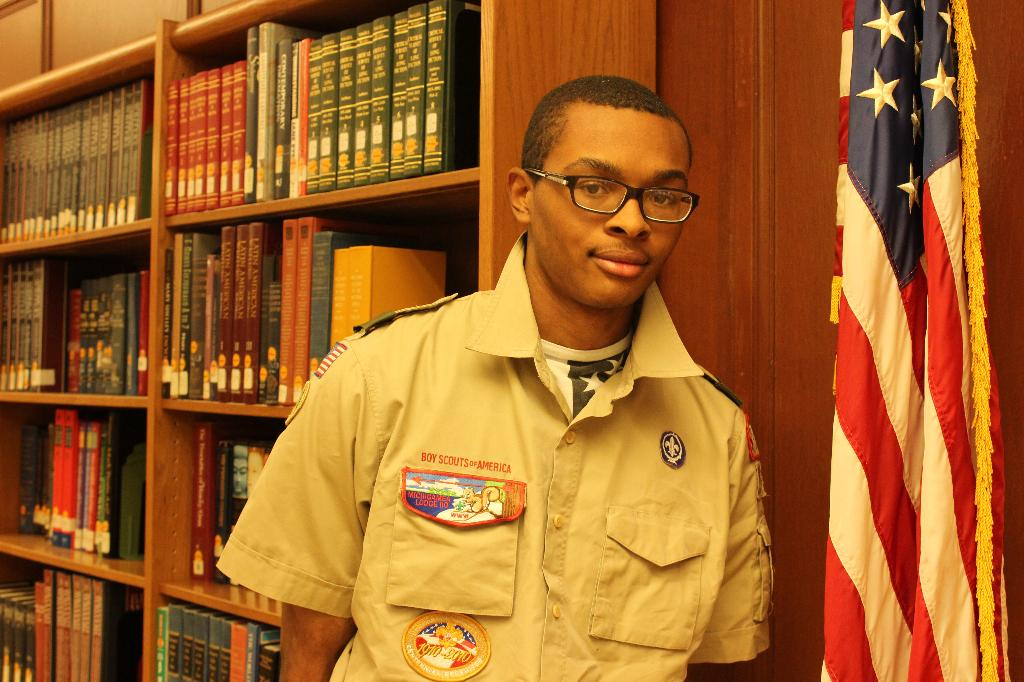 TFN Senior Earns Eagle Scout